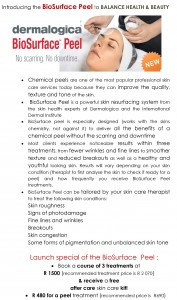 info on the Bio Surface Peel